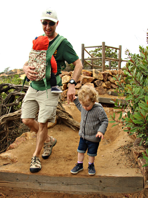 Torrey Pines Natural Reserve with Baby and Toddler