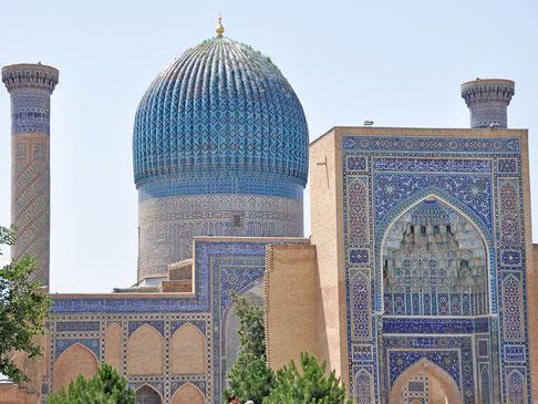 世界遺産「サマルカンド-文化交差路(ウズベキスタン)」、サマルカンドのグリ・アミール廟