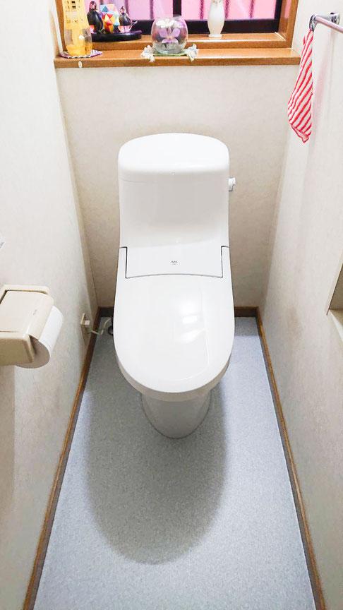 千葉市花見川区 外壁塗装、屋根塗装工事 トイレも一緒に工事