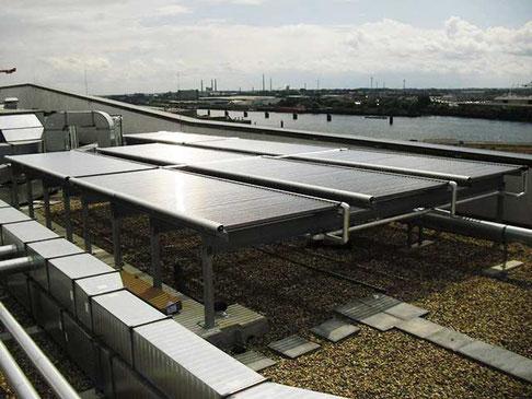 Warmwasserbereitung, Hafencity, Hamburg, Deutschland