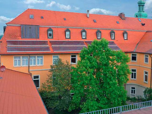 monastery Kellenried, Germany, heating, cooking and washing processes