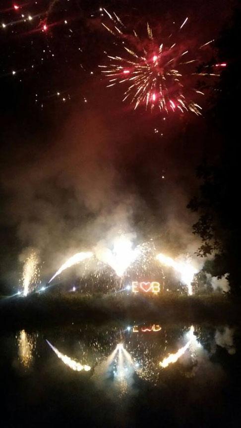 Feuerwerk Heute waren wir in Sindelfingen, Wildberg, Samern und Adelebsen unterwegs.