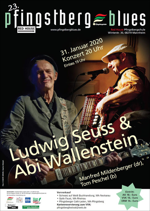 Ludwig Seuss & Abi Wallenstein 11/2019
