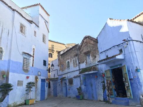 モロッコ/シャウエン旧市街