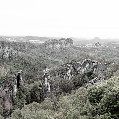 carolafelsen elbe sandstone mountains saxony germany
