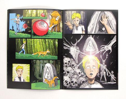 """""""La forêt oubliée""""-Comic"""