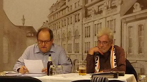 Max Haller und Bruno Loepthien (Bild: Patrick Balzli )