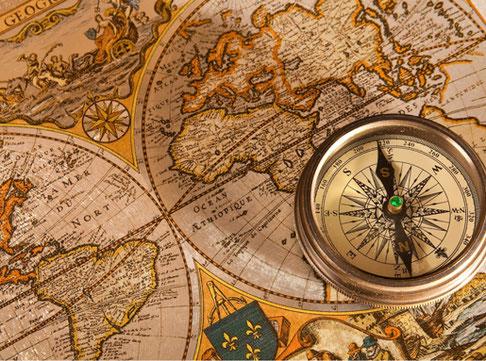 会社概要の地図