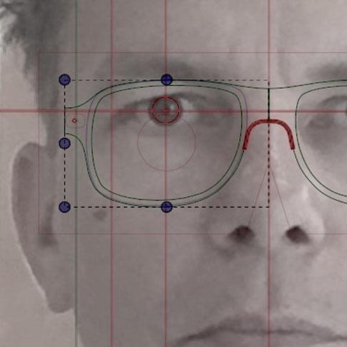 Maßbrille von Optiker Zacher in Erfurt #Einzelstück #Unikat #Brille
