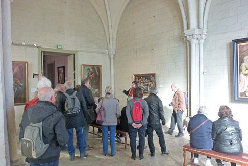 La dernière photo prise pendant la visite dans le musée épiscopal Bossuet