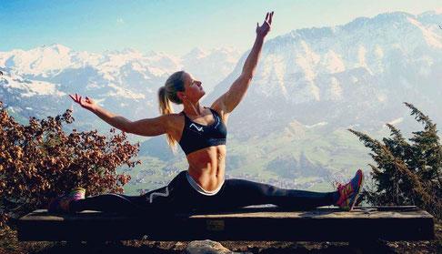 Outdoor Sport Aktiv Bewegung gutes Körpergefühl