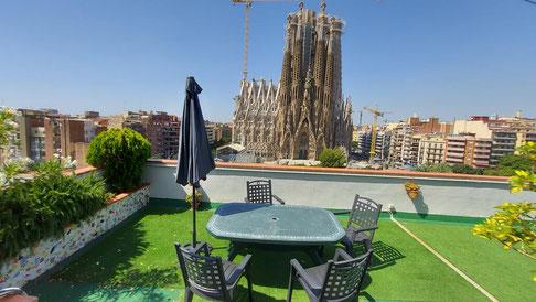 Апартаменты рядом с Саграда Фамилия в Барселоне