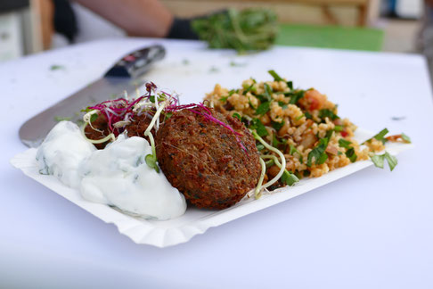 Falafel vegetarisch vegan Reinbek