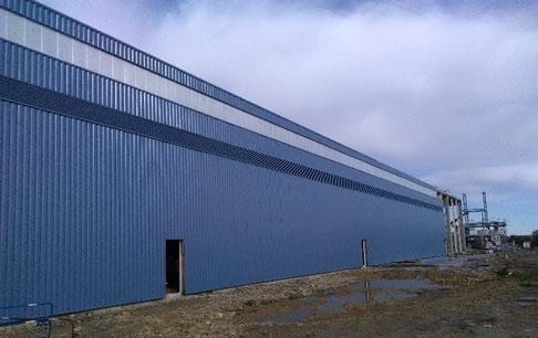 Archiblock bâtiment metallique réalisé par ACMB Brioux 79