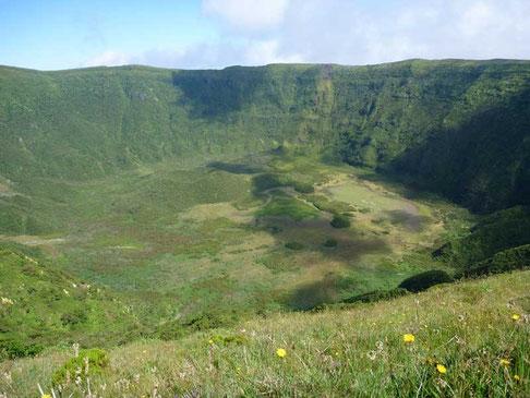le cratère de Caldeira