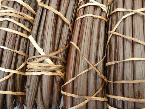 la vanille Bourbon, une des spécialité de l'île
