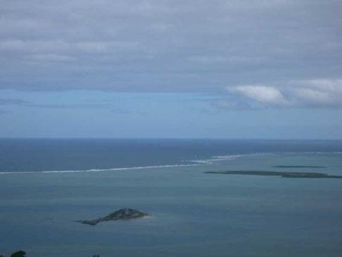 le lagon côte au vent