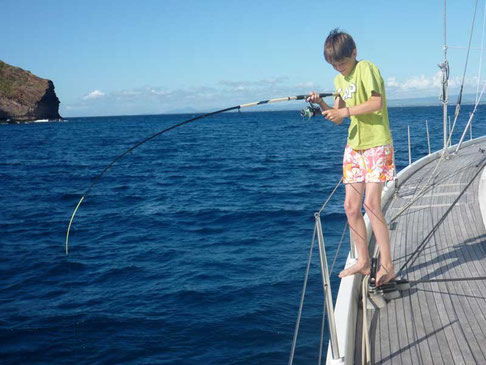 Thibault, pêcheur talentueux