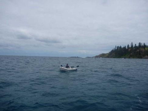 panne de moteur du dinghy