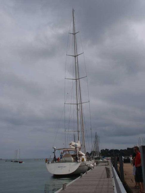 Beniguet à La Trinité sur mer après un tour du monde