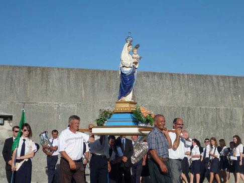 benediction de la Vierge Fatima, protectrice des pêcheurs
