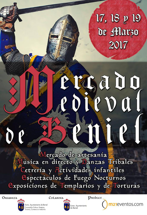 Programa del Mercado Medieval en Beniel