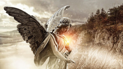 Ein Engel ist immer zur Hilfe beim Wahrsagen