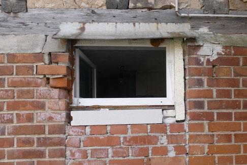 Fensteranschluss wider aller technischen Regeln