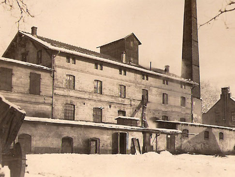 Die Brennerei um 1930