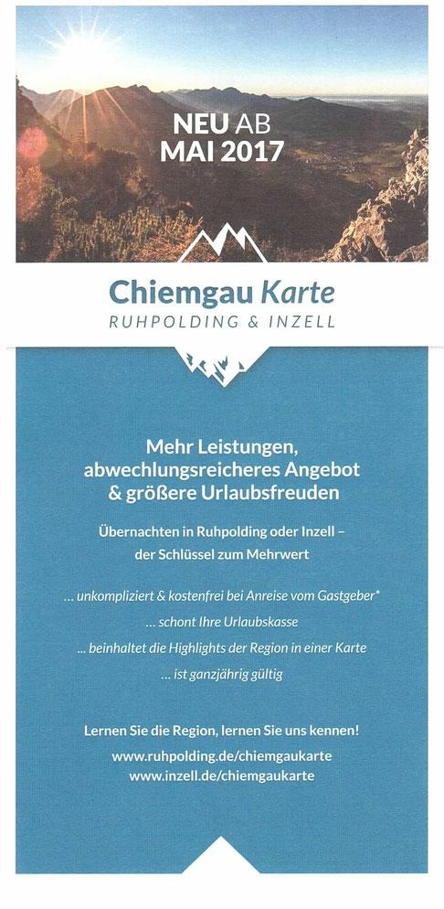 Inzell Karte.Chiemgau Karte Anfahrt Lindenhof Inzell Lindenhofinzells Webseite