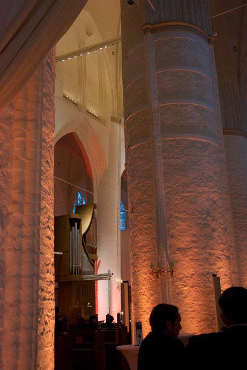 Führung durch das Katharinenviertel. St. Katharinen, so eine schöne Kirche!