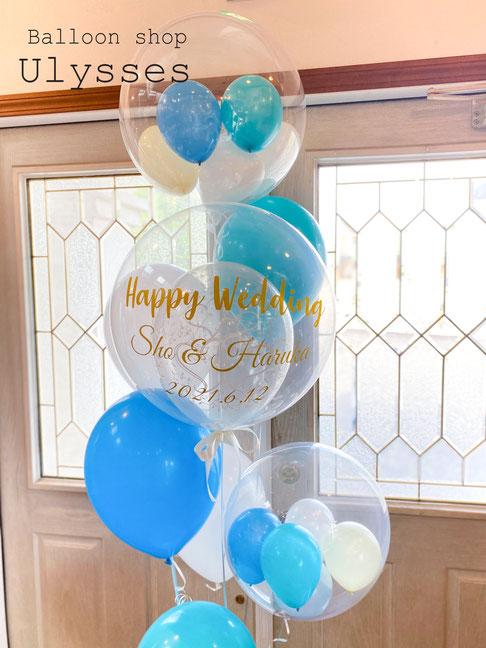 結婚式 バルーンギフト 前撮り撮影 風船 結婚祝い ウェディング バルーンブーケ バルーンアート ユリシス