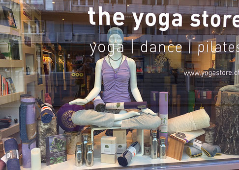 the yoga store l Yoga Dance & Pilates Shop l  Forchstrasse 52 l 8008 Zürich