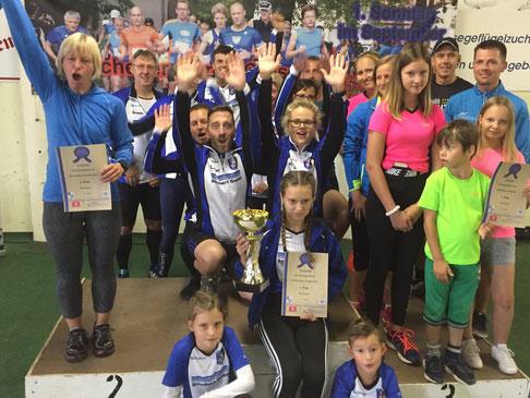 Germania Tangerhütte gewinnt den Heidel-Event-Cup von der Genthiner Chemie-Kanuten und den parchener Laufsocken. Foto: Alpha-Report