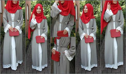 Abaya Kimono Uni
