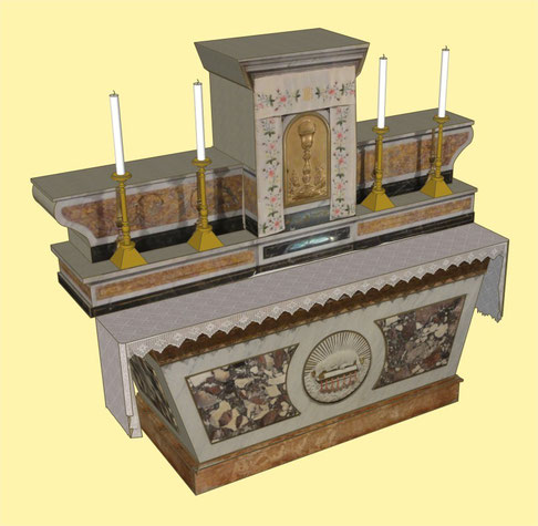 L'autel de l'église