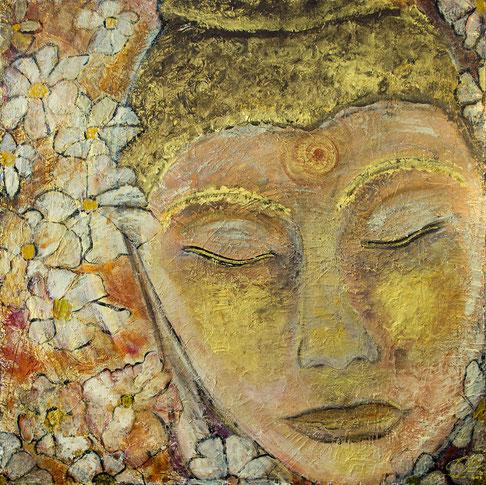 Buddha 100 x100cm