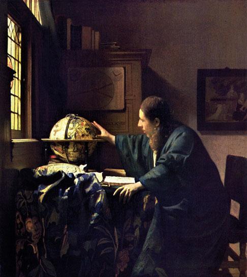 """Johannes van der Meer, """"L'astronomo"""" (1668)"""
