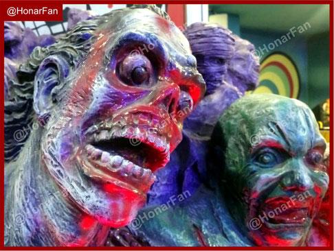 فروش شخصیتها و مجسمه های ترسناک ماسک وحشتناک ترسناکترین مجسمه دنیا ساخت مجسمه تونل وحشت دلهره آور دانلود فیلم ترسناک نمونه مجسمه ترسناک برای تونل وحشت