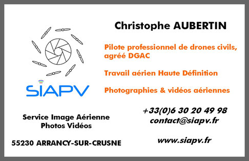 SIAPV drone lorraine Grand Est Luxembourg Meuse Meurthe-&-Moselle Moselle Vosges Alsace Marne Haute-Marne