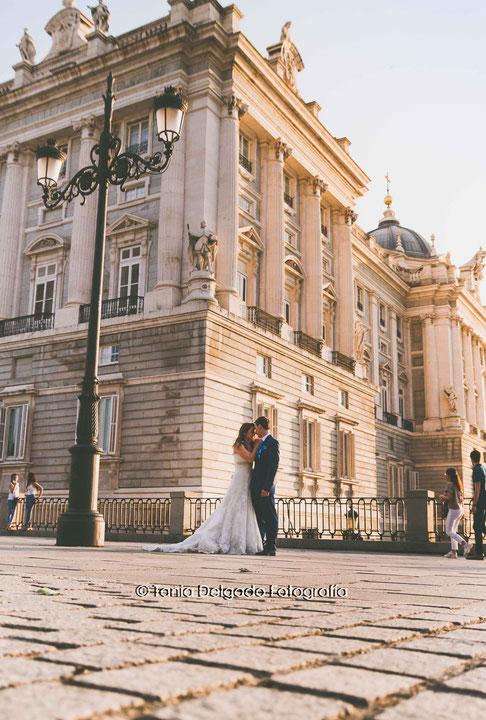 postboda, palacio real, palacio de oriente, madrid, ciudad, post boda, edificio metropolis