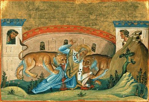Domitien lance une période de persécutions de six à huit mois, en 95, très violente et très étendue géographiquement. Durant le règne de Trajan, Ignace d'Antioche est mort dans l'arène, dévoré par les bêtes, vers 110.