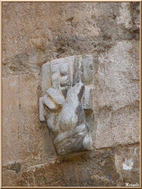 Sculpture murale, Baux-de-Provence, Alpilles (13)