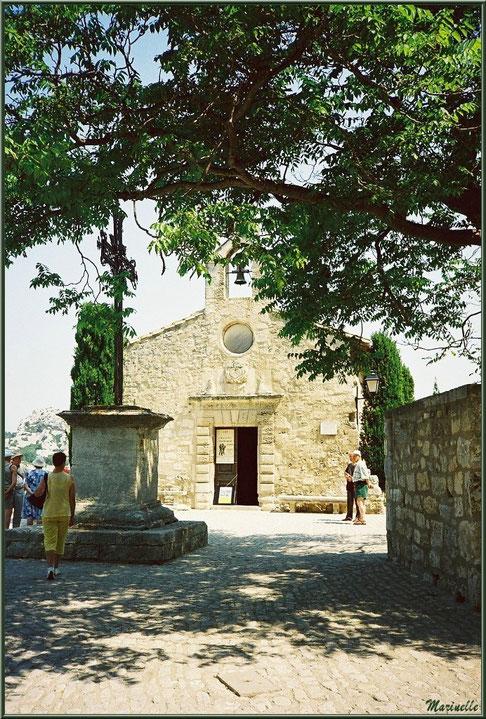 Chapelle des Pénitents-Blancs, Les Baux-de-Provence, Alpilles (13)