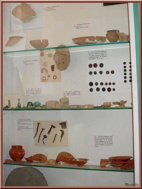 Musée Marc Deydier, village de Cucuron, Lubéron (84) : archéologie