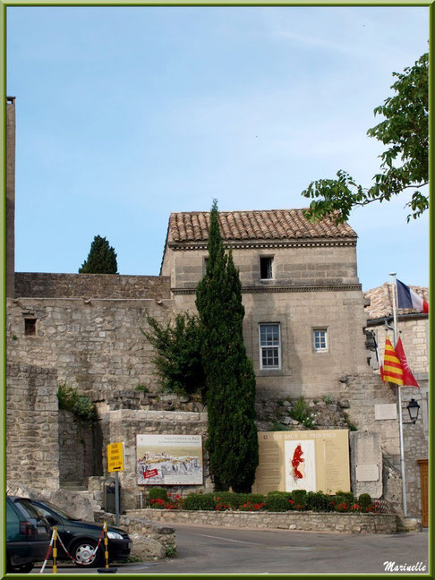 La Maison du Roy (Office de Tourisme), Baux-de-Provence, Alpilles (13)