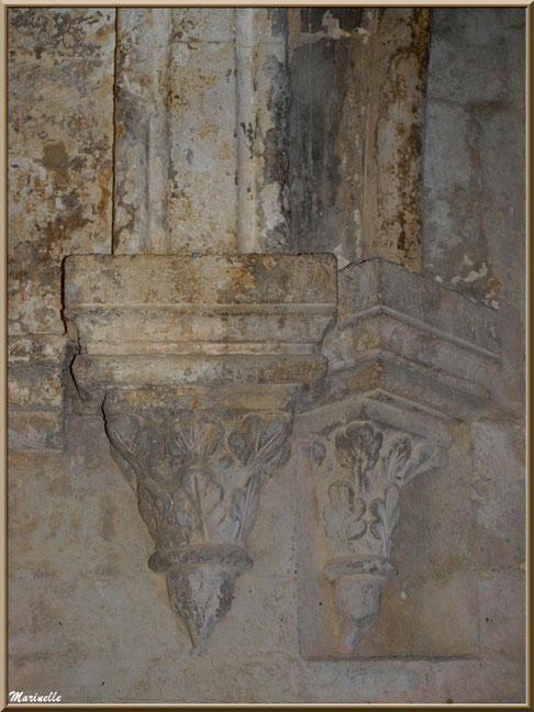 Support de voûte à l'abbaye de Silvacane, Vallée de la Basse Durance (13)