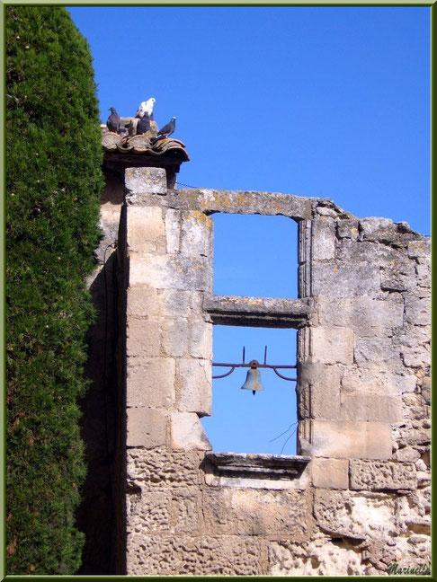 Vestige fenêtre à la cloche, Baux-de-Provence, Alpilles (13)