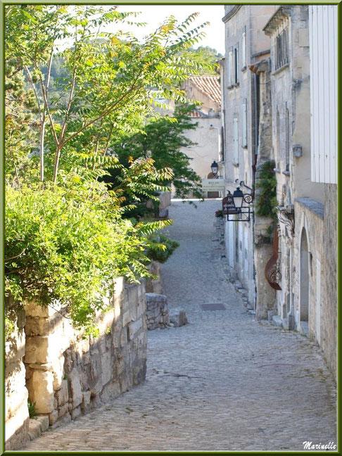 Ruelle, vieilles pierres et verdure, Baux-de-Provence, Alpilles (13)