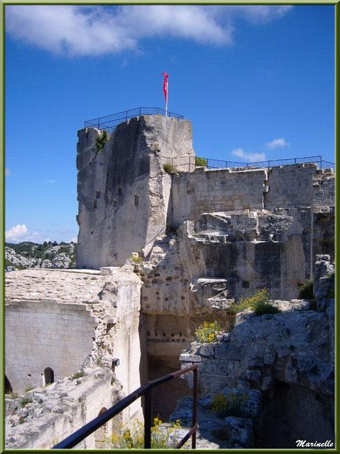 Tour Paravelle, Château des Baux-de-Provence, Alpille (13)